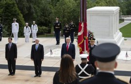 President Honors Fallen Hero's During Memorial Day Events